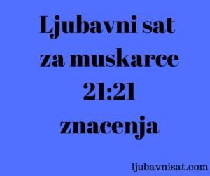 ljubavni sat sati znacenja cure muskarce 21