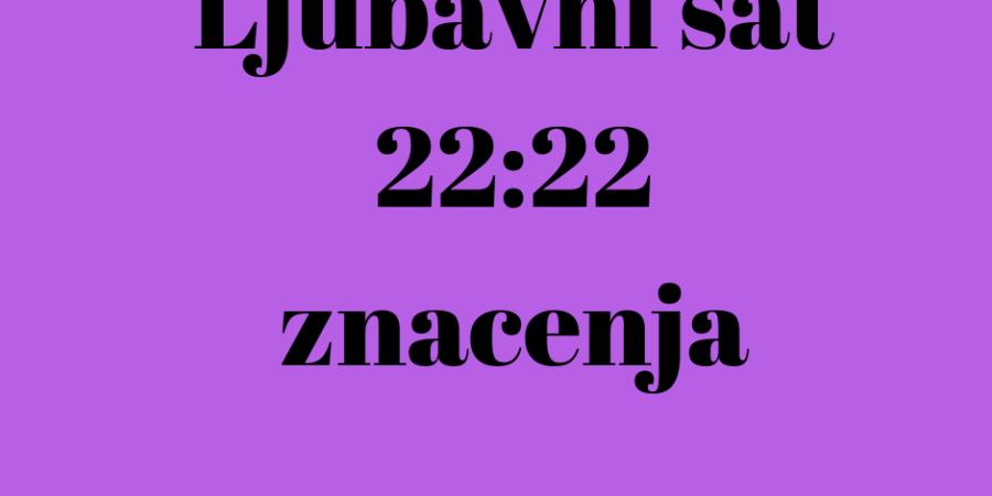 ljubavni sat sati znacenja cure muskarce zene 22